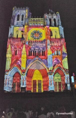 "Amiens cathédrale 2017 ""chroma"""